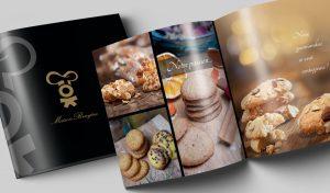 Maison Bruyere Biscuiterie artisanale création outils de communication