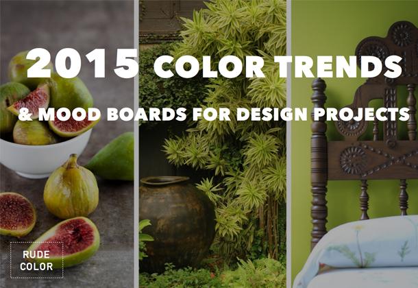 Rudecolor 2015 : tendances couleurs pour concepteurs