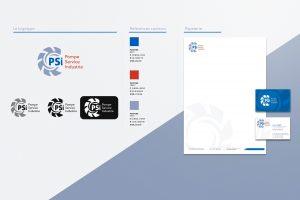 PSI Identité visuelle, logo, papeterie